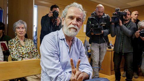 Willy Toledo, hoy en el banquillo de los acusados. (Ep)