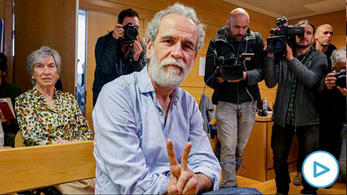 Willy Toledo, en el banquillo de los acusados (Foto: EP).