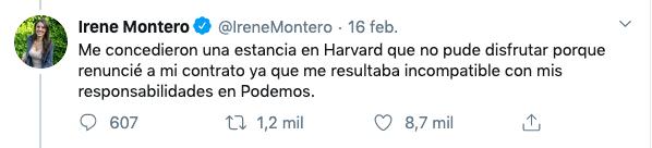Iglesias pedía cerrar universidades privadas mientras Montero aspiraba a la elitista Harvard