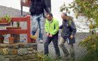 El momento en el que el ex dirigente de Eta, David Pla, es detenido en Francia. Foto: AFP