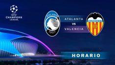 Champions League 2019-2020: Atalanta – Valencia   Horario del partido de fútbol de Champions League.