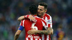 Koke y Saúl durante un partido con el Atlético. (Getty)
