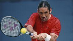Marcelo Ríos, durante el Open USA de 2001. (AFP)