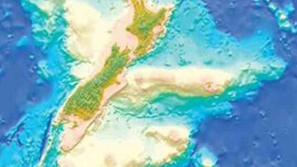 Zealandia el séptimo continente de la Tierra