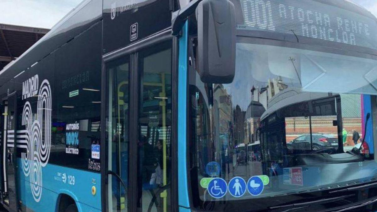 Autobuses gratis en el centro de Madrid_ así funciona la primera línea cero emisiones de la EMT