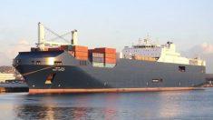 El 'Bahri Hofuf', el buque saudí que presuntamente portaba armas e hizo escala en Motril.