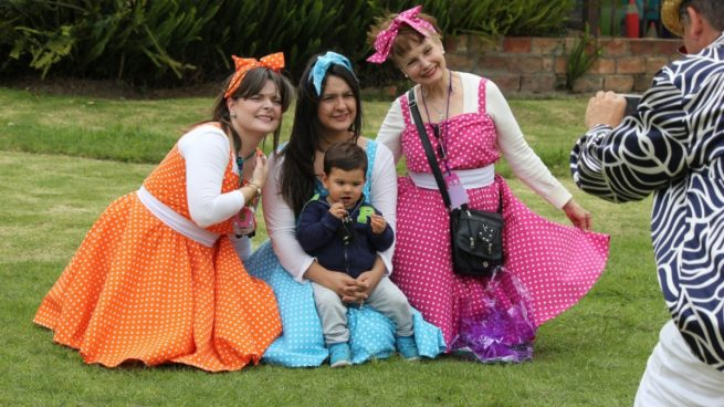 Disfraces de grupos en carnaval
