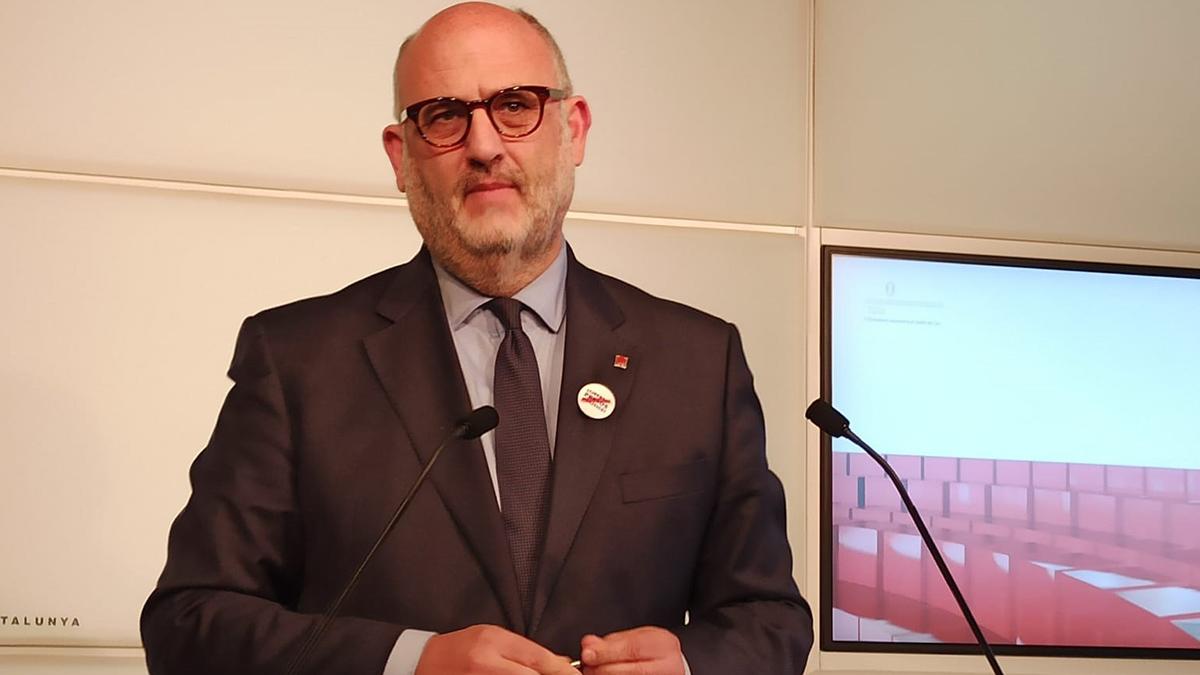 Eduard Pujol, portavoz de JxCAT