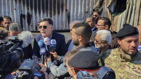 Fayez Sarraj, líder del Gobierno de Acuerdo Nacional de Libia