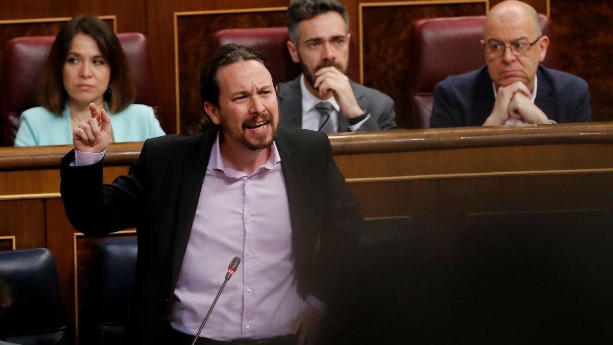El vicepresidente Pablo Iglesias. Foto: EFE