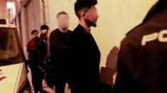 Los acusdos de agredir sexualmente a tres estadounidenses en Murcia en Nochevieja.