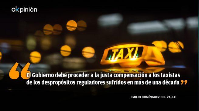 Compensar a los taxistas es de recibo con la nueva Ley de Movilidad