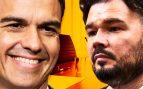 Sánchez y Rufián quieren celebrar en secreto el resto de las reuniones de la mesa de negociación