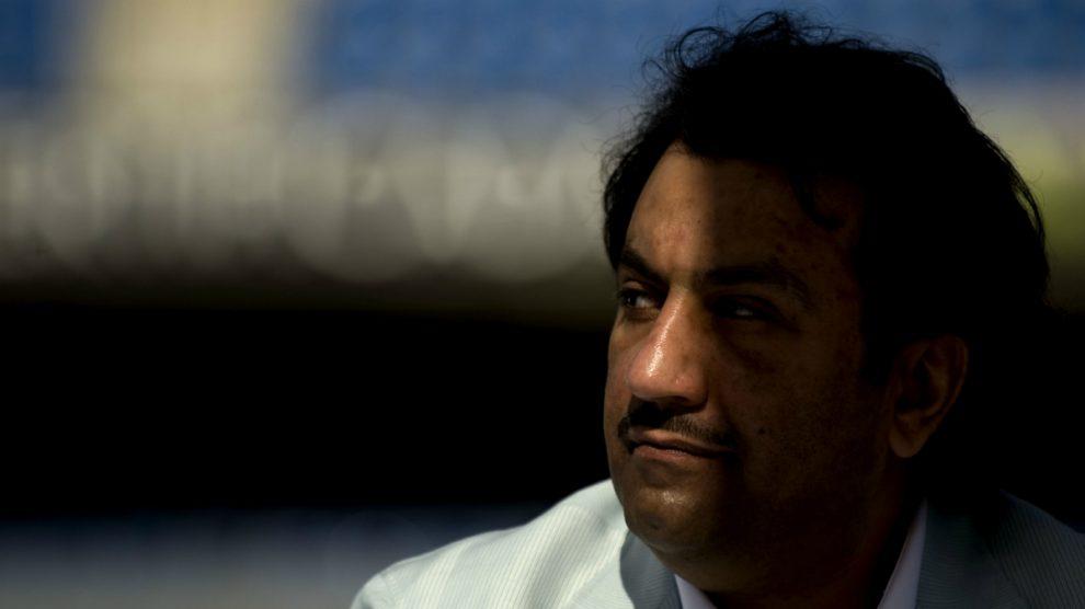 Al-Thani, máximo accionista del Málaga (AFP).
