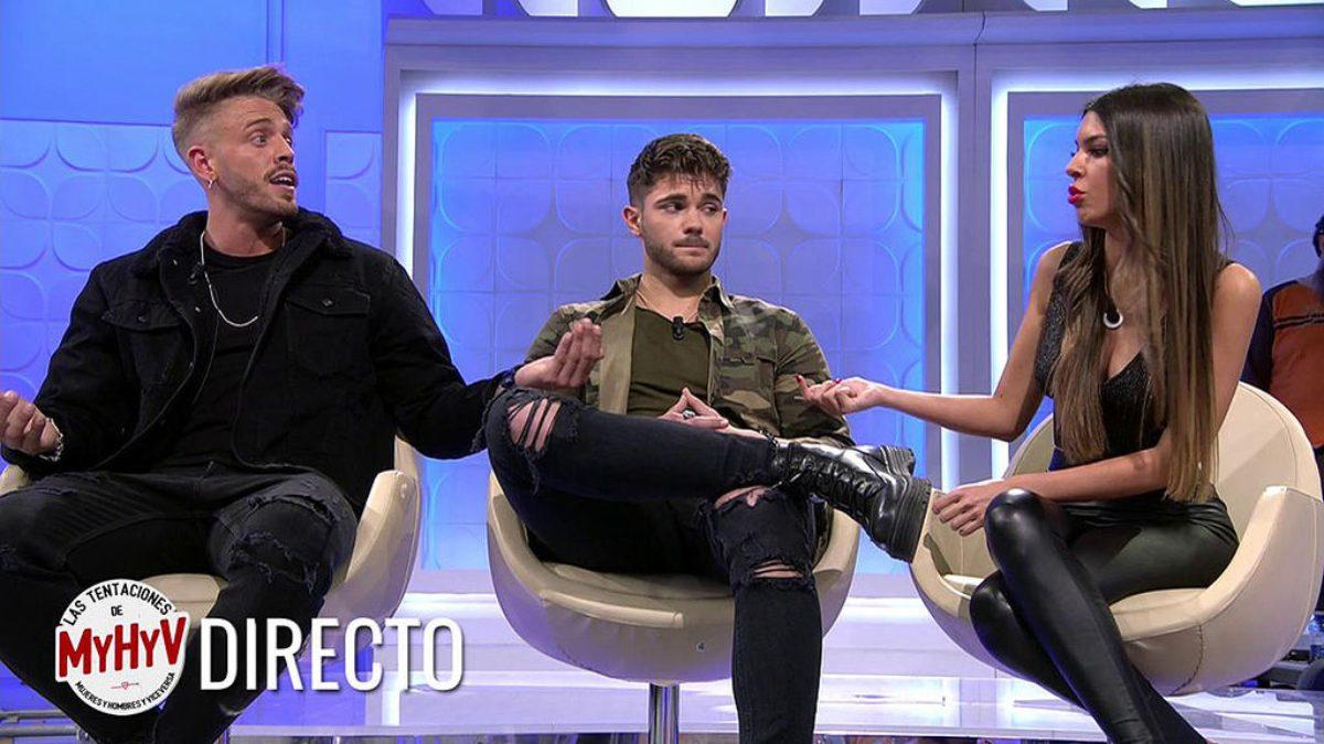 Andrea, Oscar, Ismael