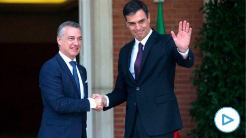 Pedro Sánchez e Iñigo Urkullu en una imagen de archivo(Foto: EFE).