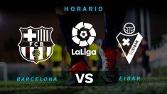 Liga Santander 2019-2020: Barcelona – Eibar   Horario del partido de fútbol de Liga Santander.