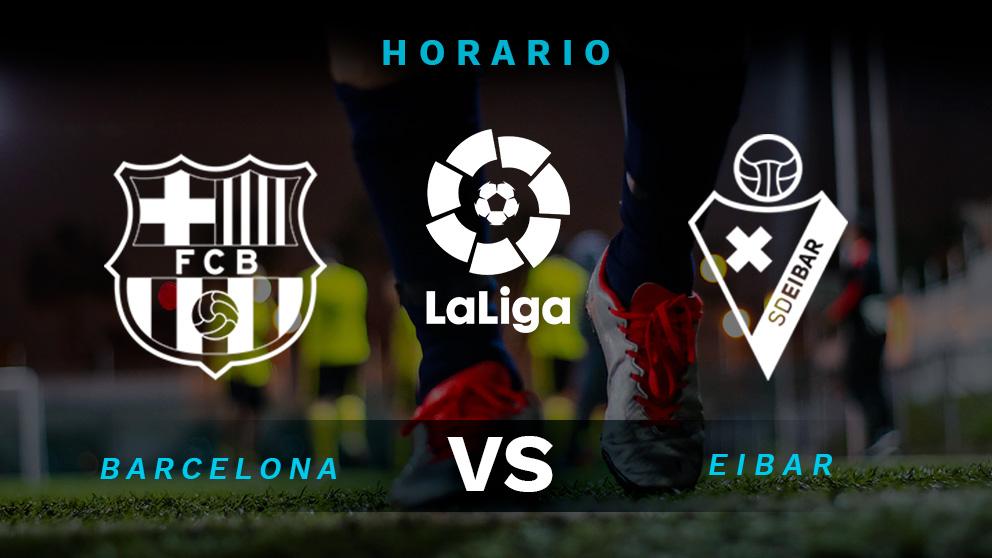 Liga Santander 2019-2020: Barcelona – Eibar | Horario del partido de fútbol de Liga Santander.