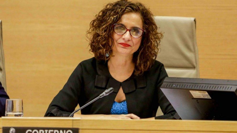 Comparecencia de la ministra de Hacienda, María Jesús Montero, en la Comisión de Hacienda del Congreso.