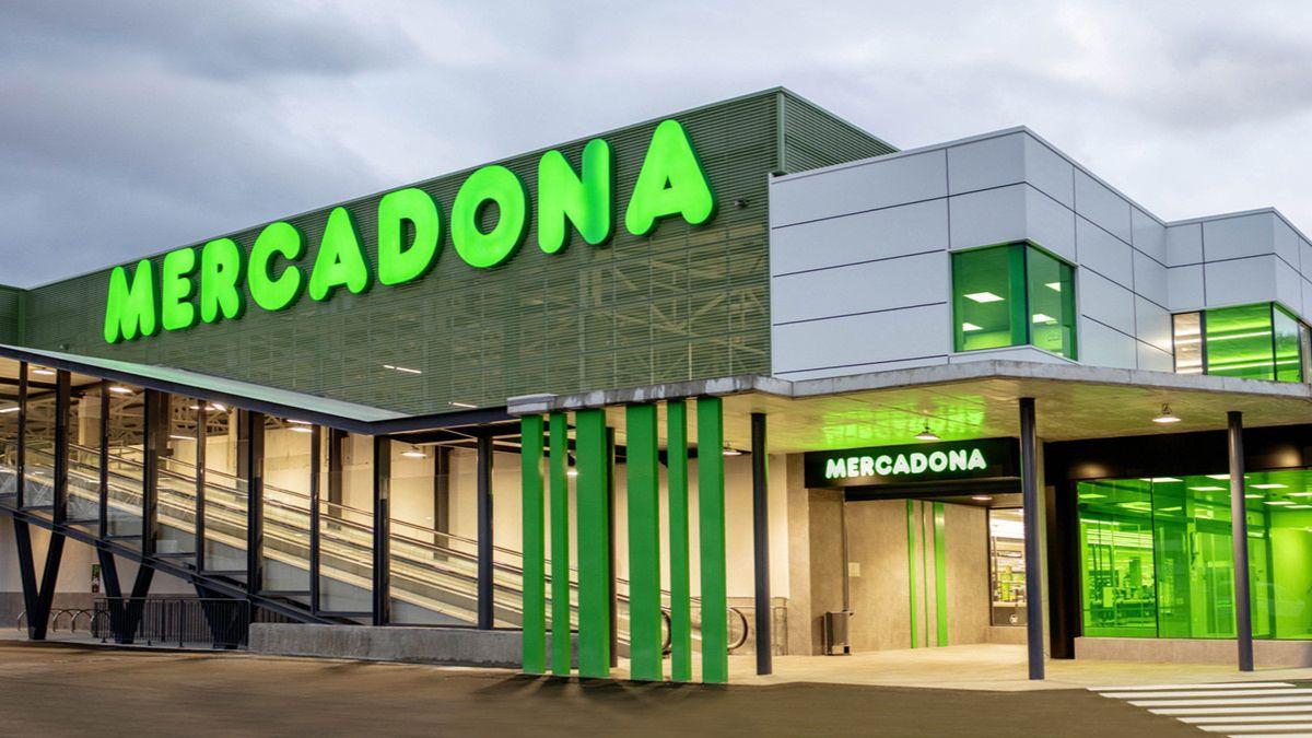 Un centro comercial de Mercadona.