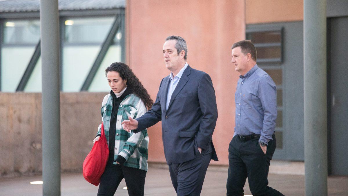Quim Forn sale de la cárcel de Lledoners para ir a trabajar a Mediapro. Foto: EP