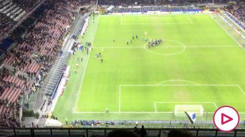 Más de 2.300 valencianistas se desplazaron a Milán.