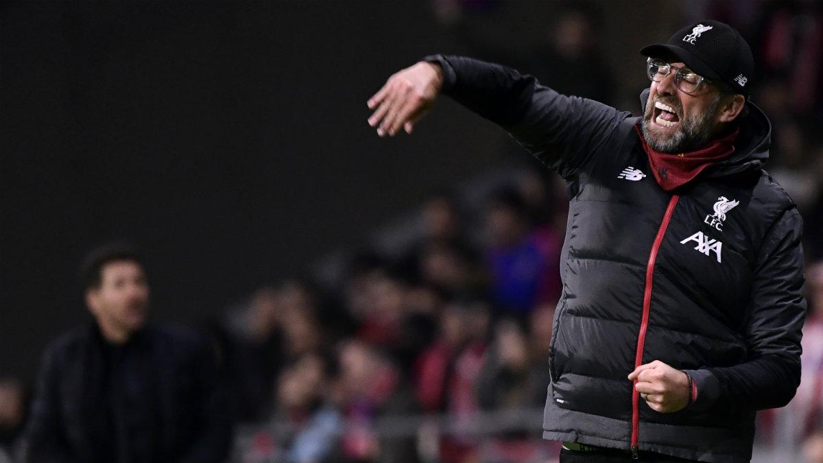 Jürgen Klopp, técnico del Liverpool. (AFP)