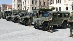 Cuartel militar de El Bruc en Barcelona.