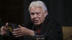 El ex presidente socialista del Gobierno, Felipe González. Foto: EP