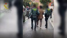Hombre detenido en el marco de la operación 'Scort'. Foto: EP
