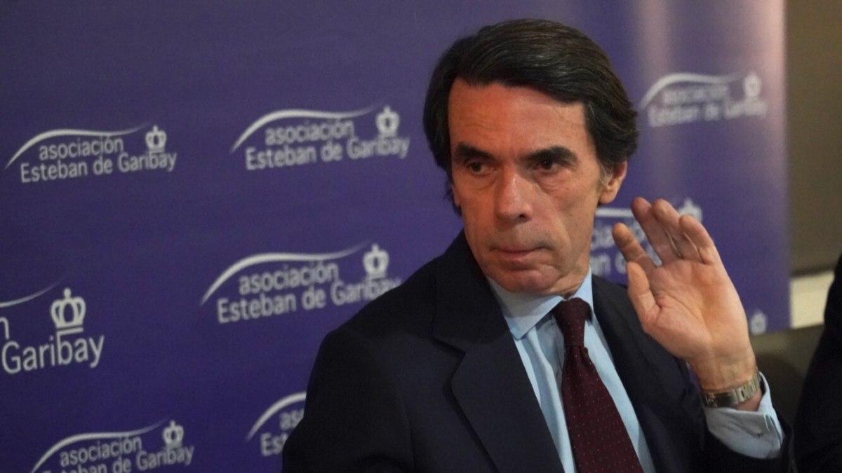 José María Aznar. Foto: EP