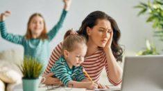 Los mejores consejos para poder trabajar desde casa cuando se tienen niños