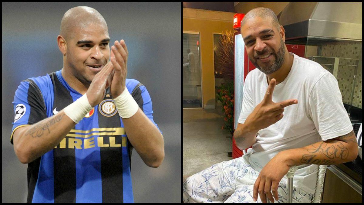 Adriano, ex jugador del Inter, desmiente su propia muerte.