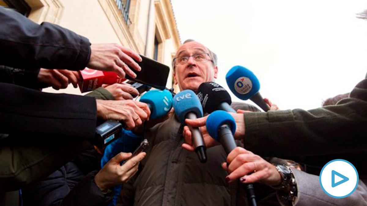 Alfonso Alonso, presidente del PP vasco