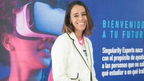 Elena Ibañez, fundadora de Singularity Experts.