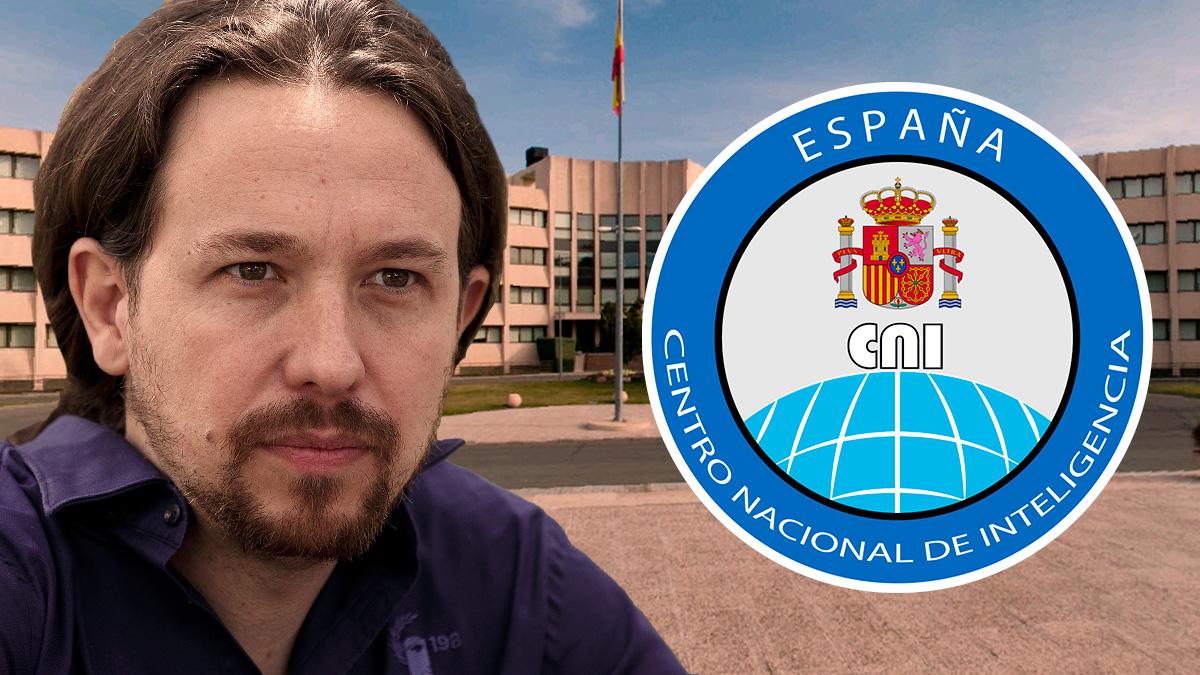 Pablo Iglesias y las instalaciones del CNI.