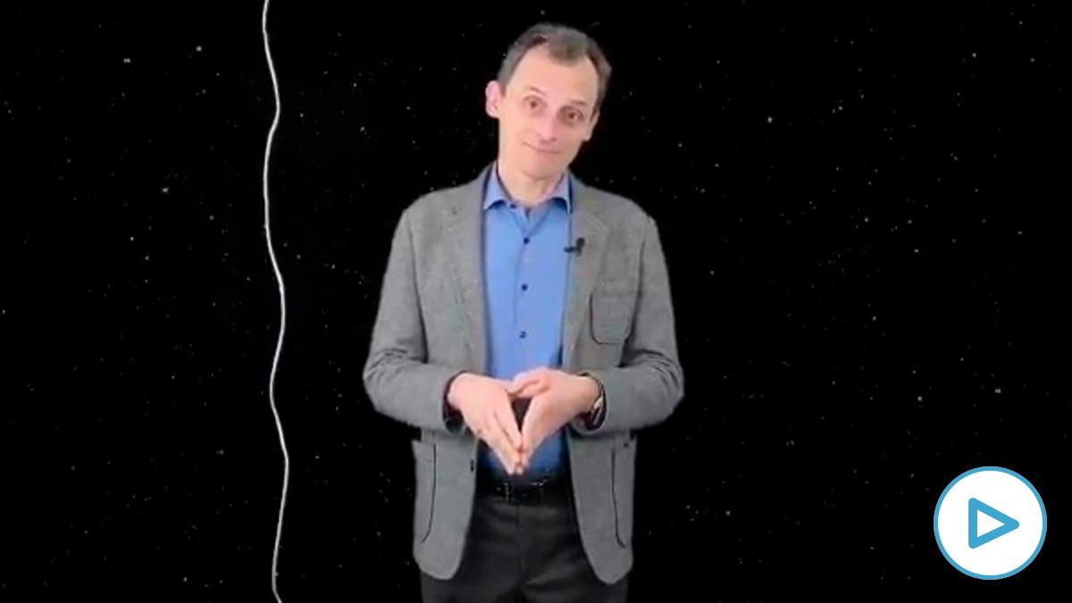 Vídeo de Pedro Duque.