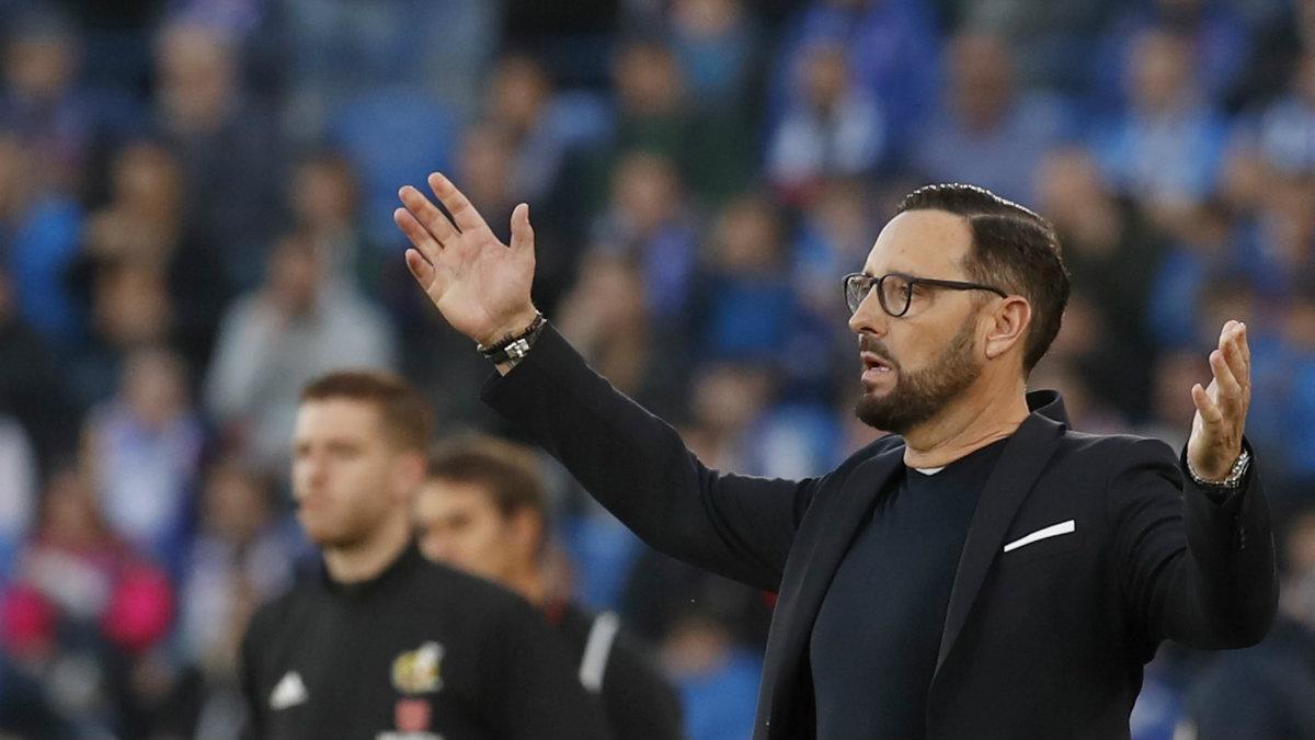 José Bordalás, entrenador del Getafe. (AFP)