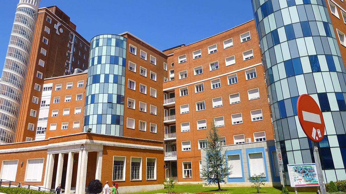 Hospital de Cruces en Baracaldo