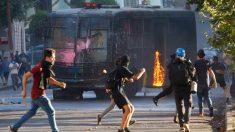 Disturbios en Chile. Foto: EP