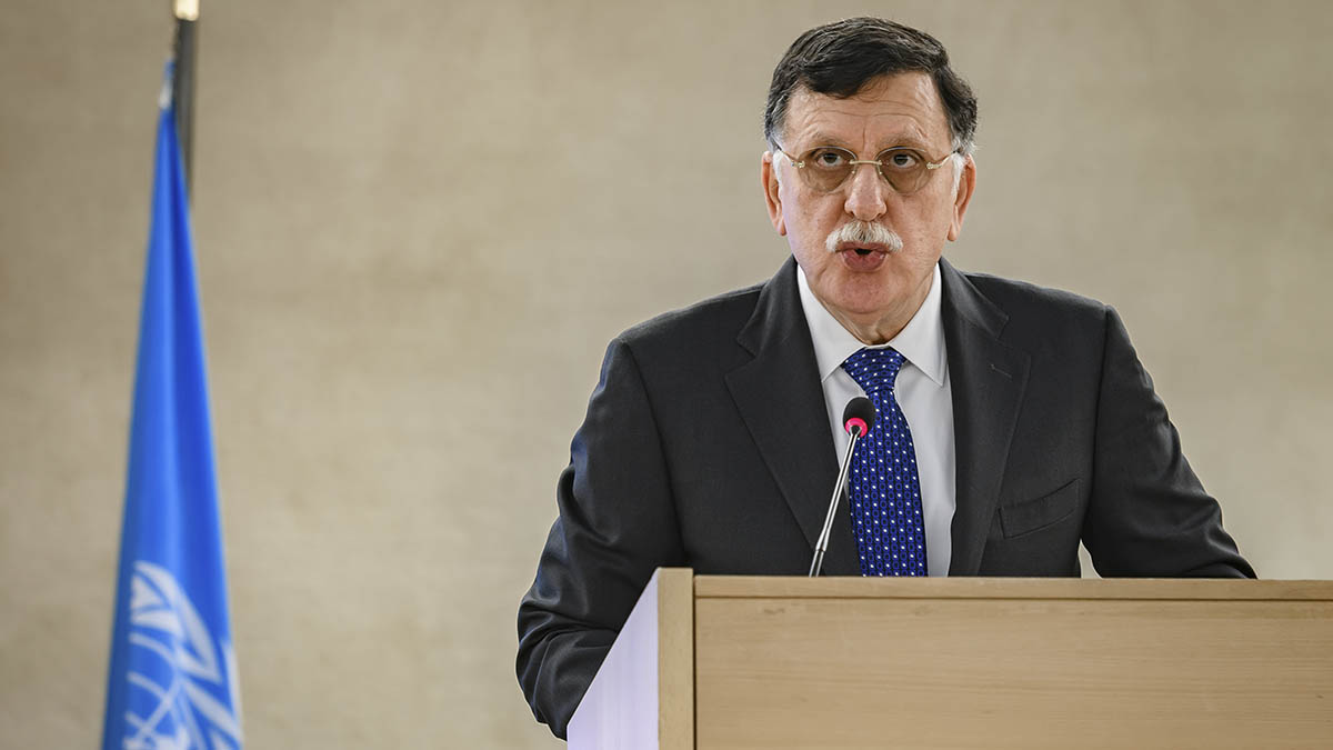 Fayez Sarraj, presidente del Gobierno de Acuerdo Nacional de Libia