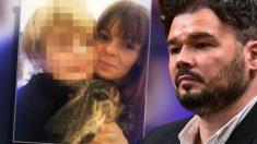 La ex mujer de Rufián llama a su nuevo perro 'Rufi'