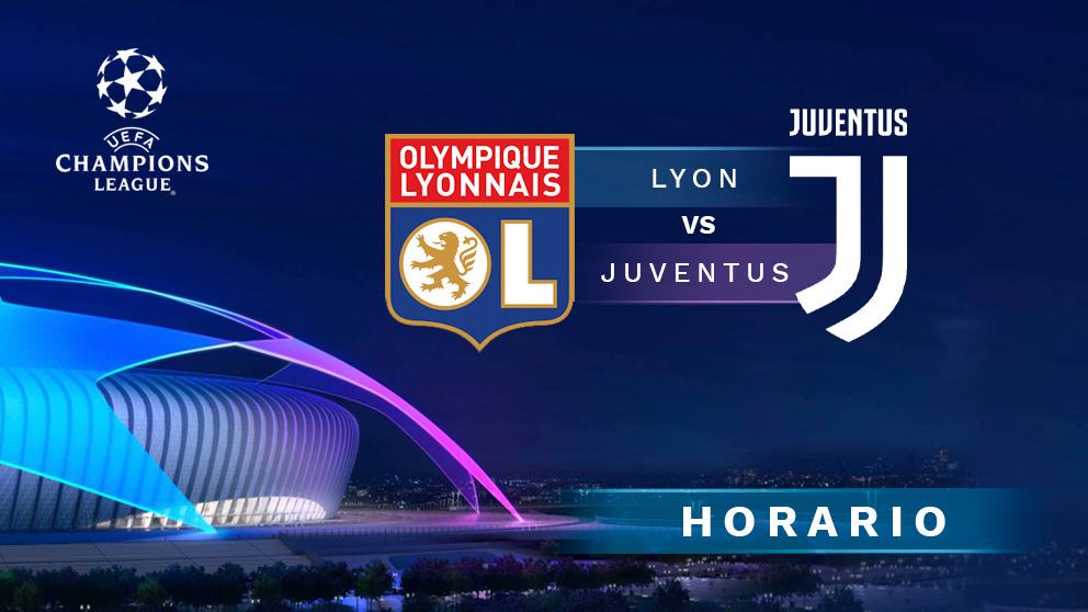 Champions League 2019-2020: Lyon – Juventus | Horario del partido de fútbol de Champions League.