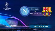 Champions League 2019-2020: Nápoles – Barcelona | Horario del partido de fútbol de Champions League.