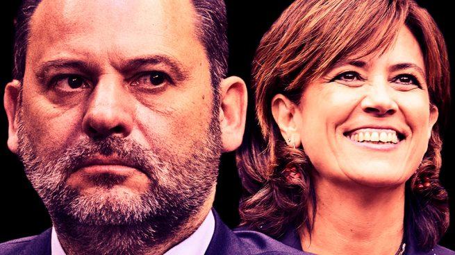 José Luis Ábalos y Dolores Delgado