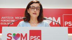 La portavoz del PSC en el Parlament, Eva Granados. Foto: EP