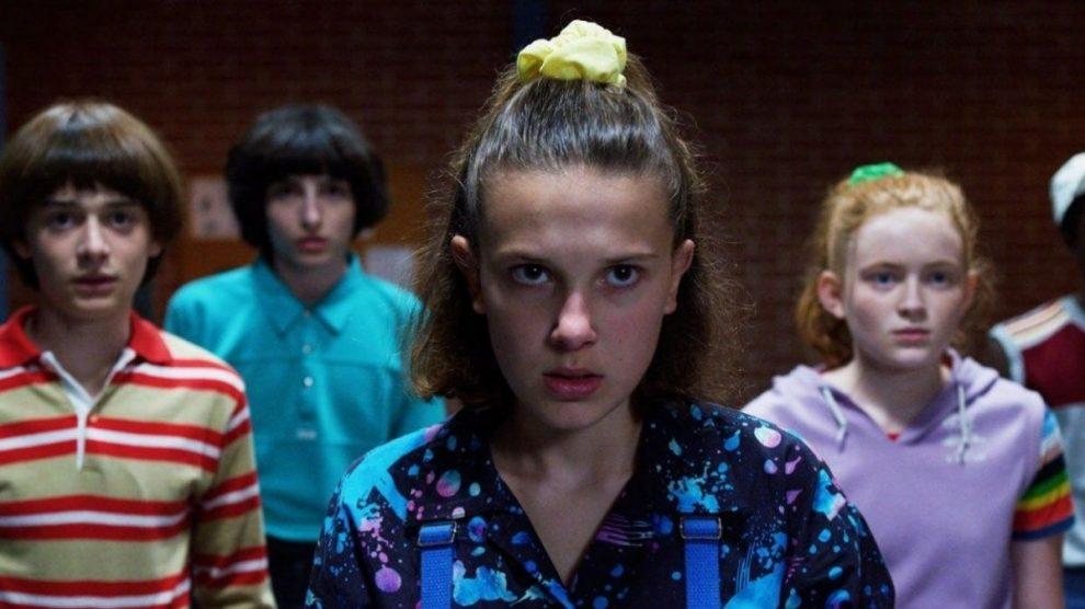 Los protagonistas de 'Stranger Things' de Netflix