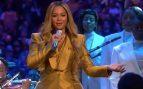 Así fue la actuación de Beyoncé en el tributo a Kobe Bryant