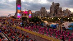 El Coso Apoteosis es el acto principal del día de hoy en el carnaval chicharrero