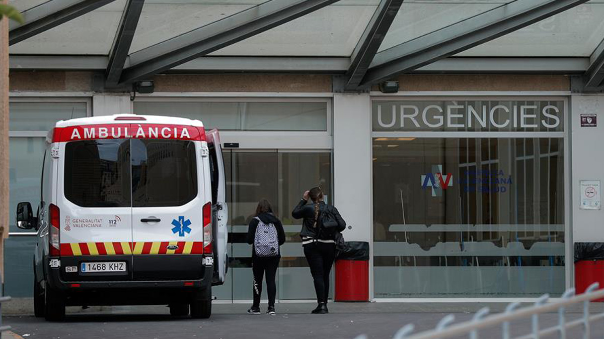 Un hospital de Cataluña.
